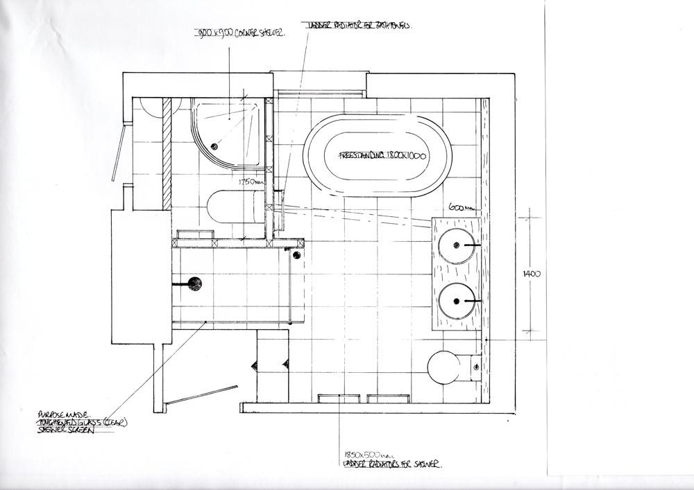 Bathroom Design Service Sandy Armitage Designs